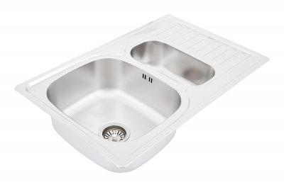 Кухонна мийка INTERLINE Style сатин