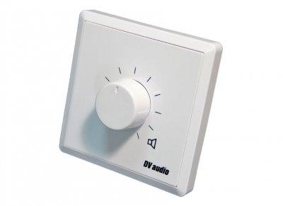 Регулятор громкости для акустических систем DV audio 60W 100V белый (P-60)