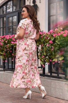 Платье ALDEM 1824 W Пудровое