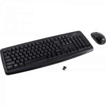 Комплект Genius Smart KM-8100 Black Ukr (31340004410)