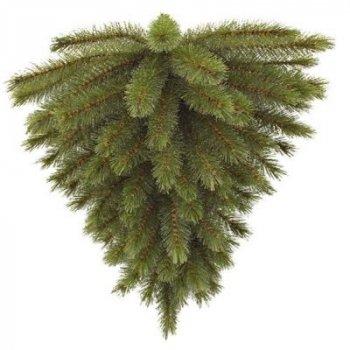 """Искусственная сосна Triumph Tree """"перевернутая"""" Forest frosted зеленая, 0,6 м (8718861155426)"""