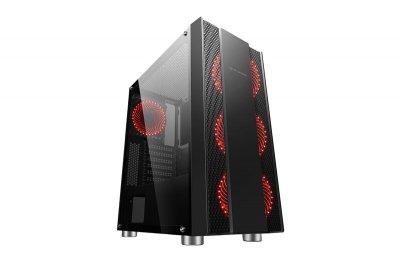 Корпус 2E Gaming Recano (G3403) Black (2E-G3403) без БЖ
