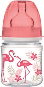 Бутылочка Canpol babies EasyStart с широким отверстием антиколиковая PP-Jungle коралловая 120 мл (35/226_cor)