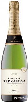 Вино игристое Marques de Terrabona Cava Brut белое сухое 0.75 л 11.5% (8410644121108)