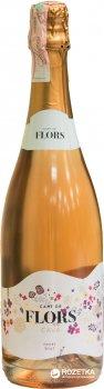 Вино ігристе Cami de Flors Cava Rose розе сухе 0.75 л 11.5% (8410644611661)