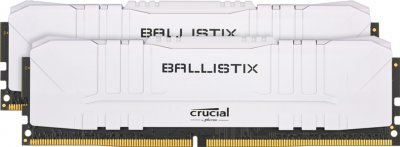 Оперативная память Crucial DDR4-3600 16384MB PC4-28800 (Kit of 2x8192) Ballistix White (BL2K8G36C16U4W)