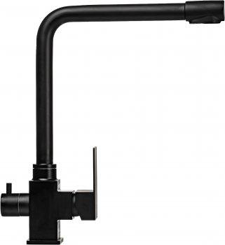 Кухонний змішувач з під'єднанням до фільтра MIXMIRA MS-0110-BB Quadro (000019176)