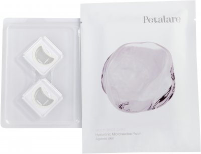 Патчі з мікроголками з гіалуронової кислоти для обличчя Petalare MultiSpot омолоджувальні 1 саше на 1 процедуру (8809408020267)
