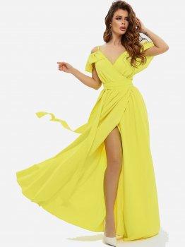 Плаття ISSA PLUS 10816 Жовте