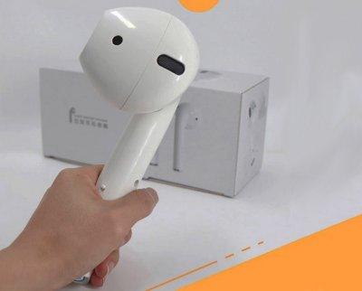 Акустична портативна колонка бездротова Bluetooth у вигляді FM USB Bluetooth White