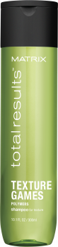 Шампунь для надання текстури волоссю Matrix Тотал Резалтс Текстур Геймз 300 мл (3474630741355)