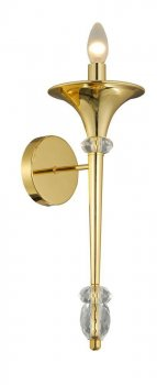 Бра CRYSTAL LUX MIRACLE AP1 GOLD