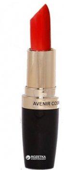 Матова помада для губ Avenir Cosmetics 805 Вогняно-червоний 4.5 г (4820440813451)
