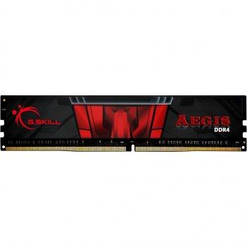 Модуль пам'яті для комп'ютера DDR4 16GB 3200 MHz AEGIS Black G. Skill (F4-3200C16S-16GIS)