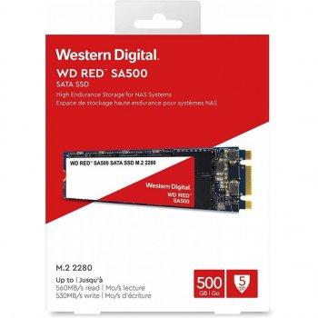Накопичувач SSD M. 2 2280 Western Digital 500GB (WDS500G1R0B)