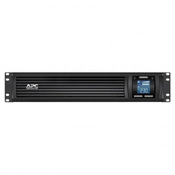 Пристрій безперебійного живлення APC Smart-UPS C RM 1500VA LCD 230V (SMC1500I-2U)