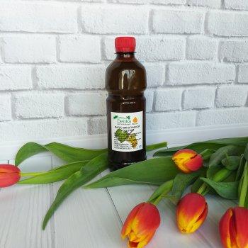 Массажное масло виноградных косточек для тела Delika нерафинированное 500 мл