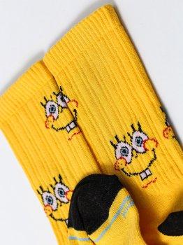 Мужские носки LOMM Premium SpongeBob LOMM BLM 0213 жёлтый