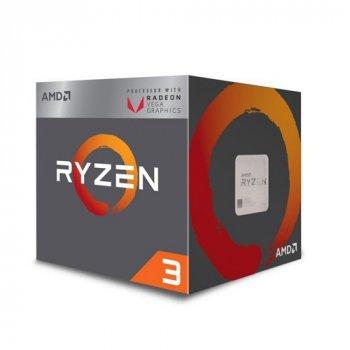 Процессор AMD AM4 Ryzen 3 4C/4TD YD2200C5FBBOX 2200G 3.7GHz 6MB 65W AM4 box RX Vega Graphics with Wraith Stealth cooler