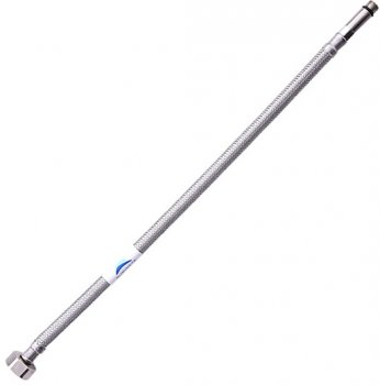 """Шланг для змішувача RUBINETA М10x1/2"""" 40 см (довга голка) 619040"""