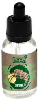 Рідина для електронних сигарет Herbal Vape Ginger 0 мг 30 мл (Імбир) (HV-GI-30)