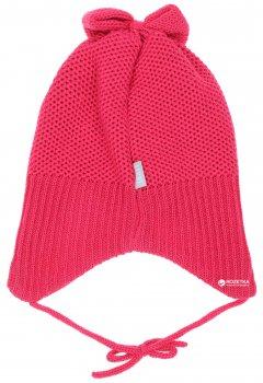 Зимняя шапка с завязками Lenne Janely 18376/261 46 см Малиновая (4741578206512)