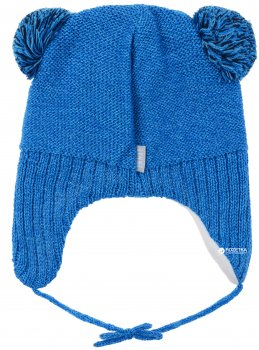 Зимняя шапка с завязками Lenne Brethe 18377/632 48 см Бирюзовая (4741578206727)