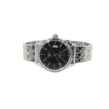 Наручные часы мужские SWIDU SWI-028 Silver + Black с стальным ремешком нержавеющие