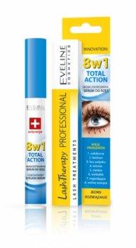 Сыворотка для ресниц Eveline Cosmetics Сыворотка Total Action 8в1 8в1