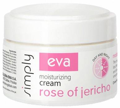 Увлажняющий крем для лица Eva Simply с экстрактом иерихонской розы 50 мл (5900002071334)