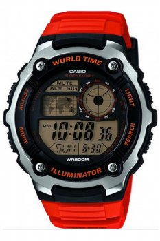 Чоловічі годинники Casio AE-2100W-4AVEF