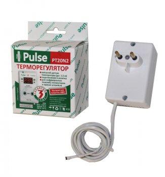 Терморегулятор РТ20-N2 розетковий цифровий Pulse