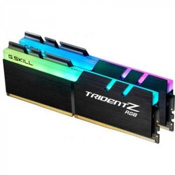 Модуль памяти для компьютера DDR4 16GB (2x8GB) 4600 MHz Trident Z RGB G.Skill (F4-4600C18D-16GTZR)
