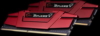 Оперативна пам'ять G.Skill DDR4-3400 32768MB PC4-27200 (Kit of 2x16384) Ripjaws V Red (F4-3400C16D-32GVR)