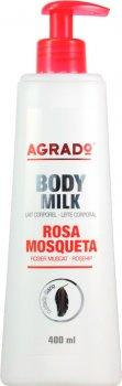 Молочко для тела Agrado Body Milk Rosehip шиповник 400 мл (8433295038373)