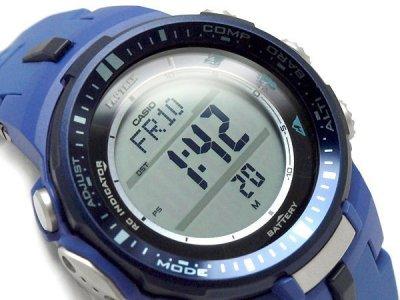 Чоловічі годинники CASIO PRW-3000-2BER