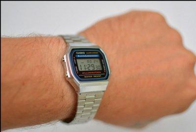 Чоловічі годинники CASIO A-168WA-1UZ
