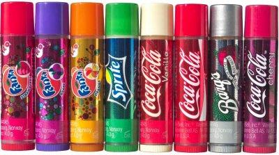 Гігієнічна помада Lip Smacker Coca-Cola набор 8шт