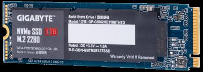 Gigabyte NVMe SSD 1TB M. 2 2280 (GP-GSM2NE3100TNTD) (WY361833893)