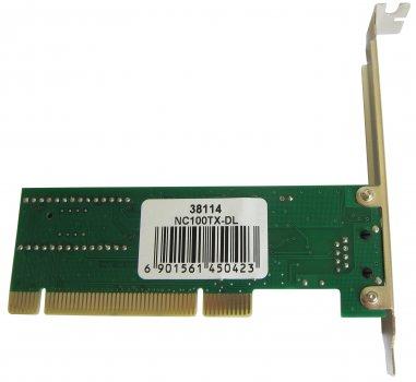 Сетевой адаптер Dynamode Ethernet Lan, PCI (NC100TX-DL)