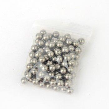 Металеві кульки DEXT для рогатки 8 мм сталь 50шт (OK2213820320)