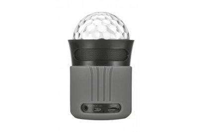 Портативна акустика Trust Dixxo Go Wireless Bluetooth Speaker party with lights grey (21345)
