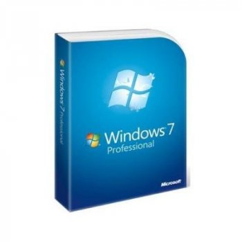 MS Windows 7 Professional, 32/64 bit Ukrainian DVD BOX (FQC-00301)