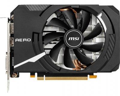 Відеокарта GF GTX 1660 Super 6GB GDDR6 Aero ITX MSI OC (GeForceGTX 1660 SUPER Aero ITX OC)
