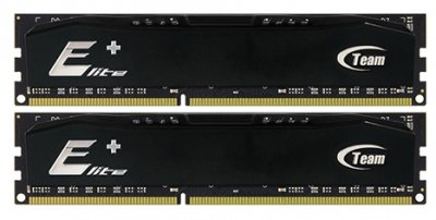 Модуль пам'яті DDR3 2x4GB/1600 Team Elite Plus Black (TPD38G1600HC11DC01)