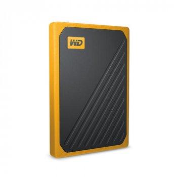 Накопичувач зовнішній SSD USB 500GB WD My Passport Go Amber (WDBMCG5000AYT-WESN)