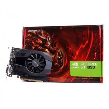 Видеокарта Colorful GeForce GT1030 2Gb DDR5 64-bit VGA/HDMI 1228/6000MHz (GT1030 2G V3-V)
