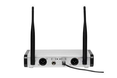 Радіосистема DV audio з двома ручними мікрофонами PGX-224 Dual здвоєна