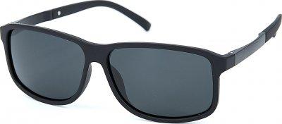 Солнцезащитные очки мужские поляризационные SumWin Р005-06 Черные матовые