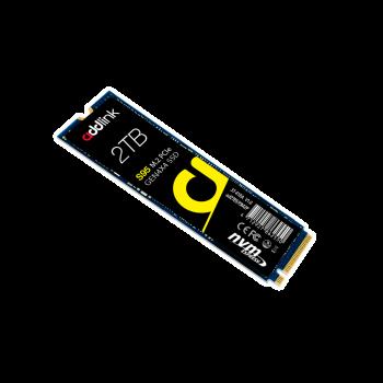 SSD накопичувач AddLink S95 2TB NVMe M. 2 2280 PCIe 4.0 x4 3D NAND TLC (ad2TBS95M2P)